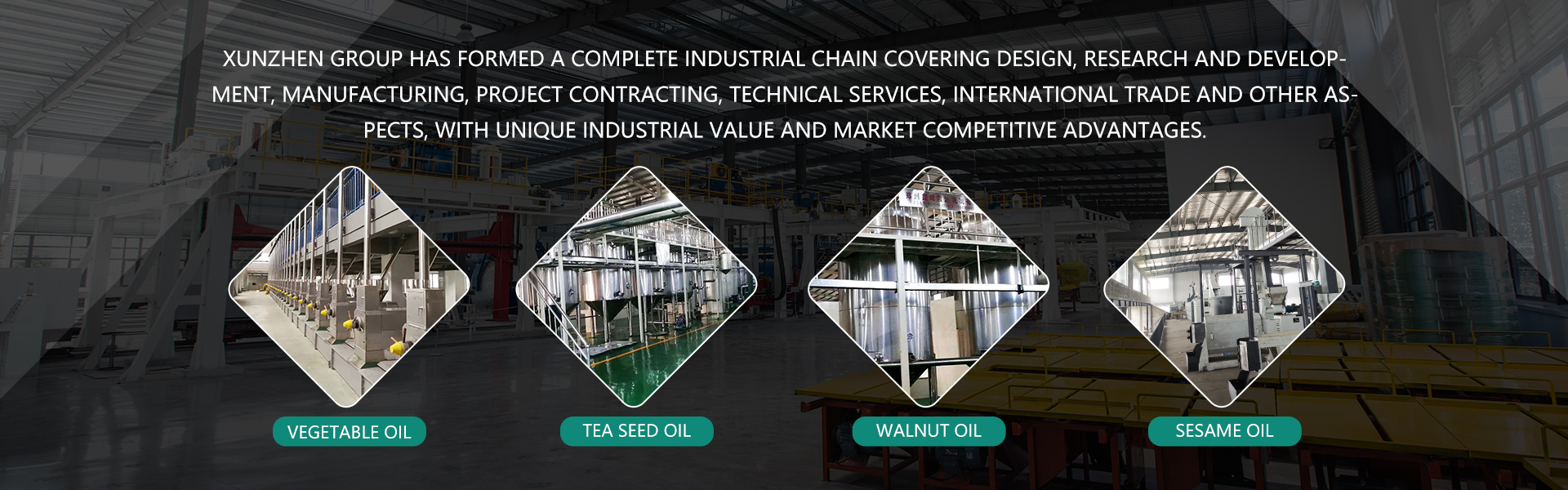 Plant oil refining equipment